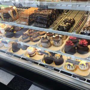 vegan treats - display
